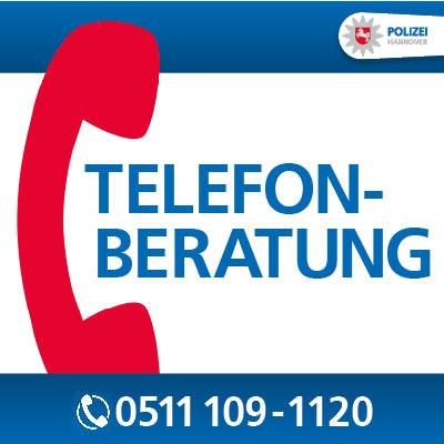 Poster Telefonberatung Polizei