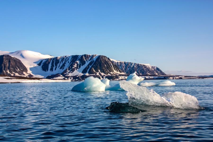zunehmend eisfreie Barentssee