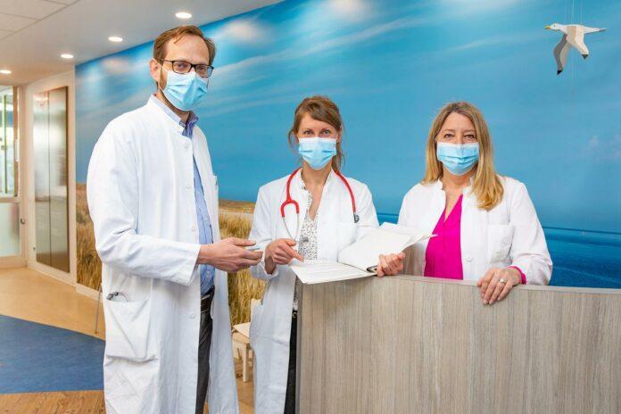 (von links) Dr. Martin Wetzke, Dr. Katharina Schütz und Professorin Dr. Gesine Hansen