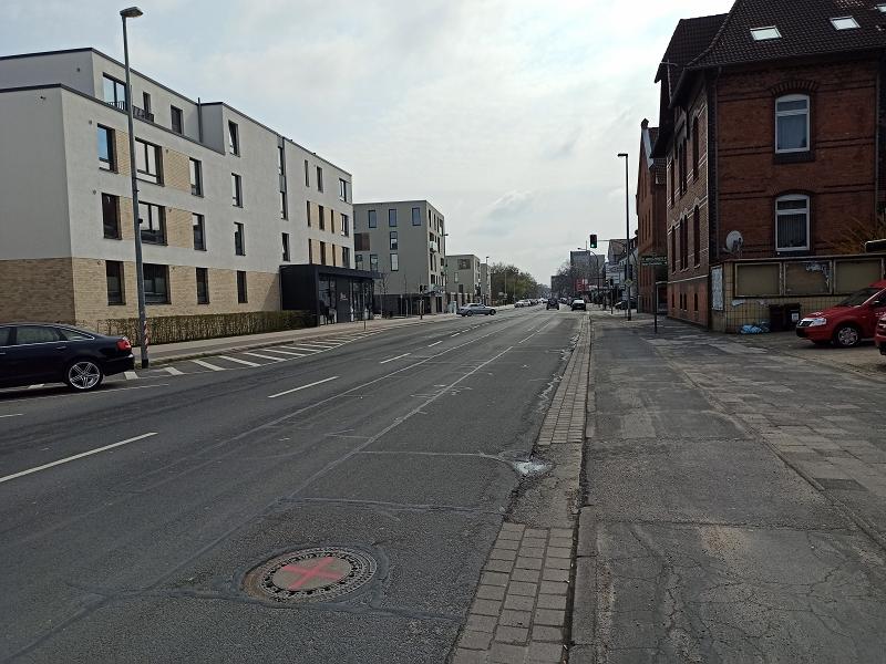 Walsroder Straße – Schäden