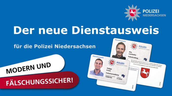 Flyer Dienstausweis Polizei