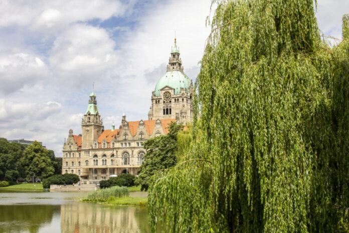 Rathaus Hannover Maschteich