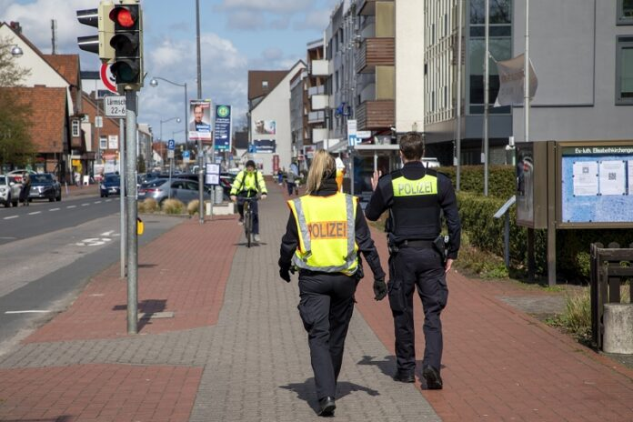 Fahrradkontrolle Polizei