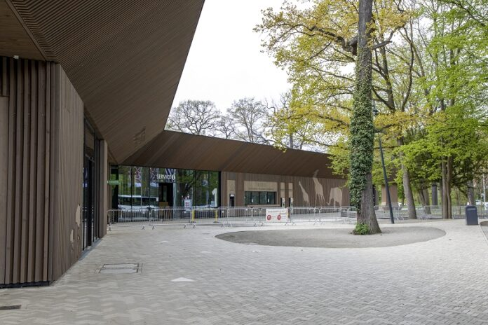 Eingangsbereich Zoo Hannover