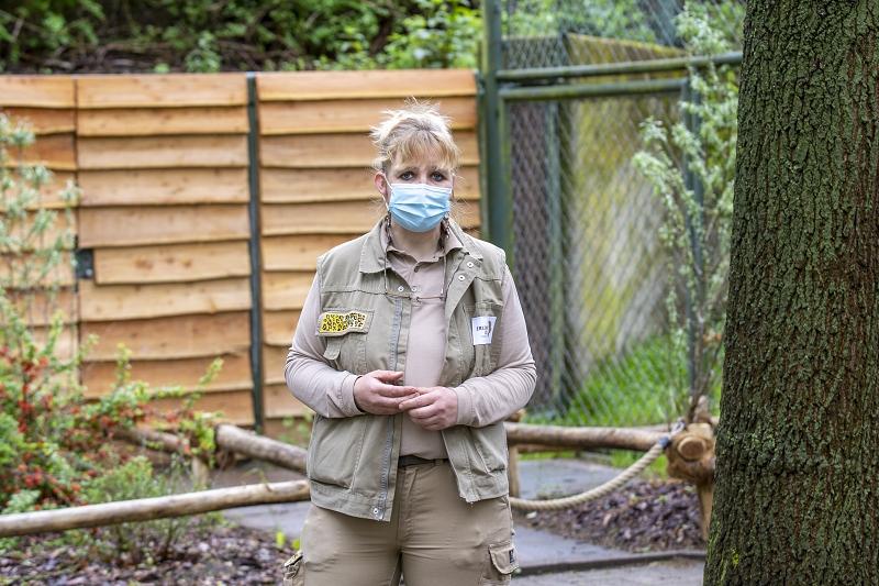 Tierpflegerin Angela Kruth