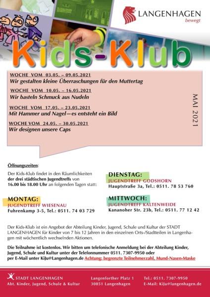 Plakat Kids-Klub