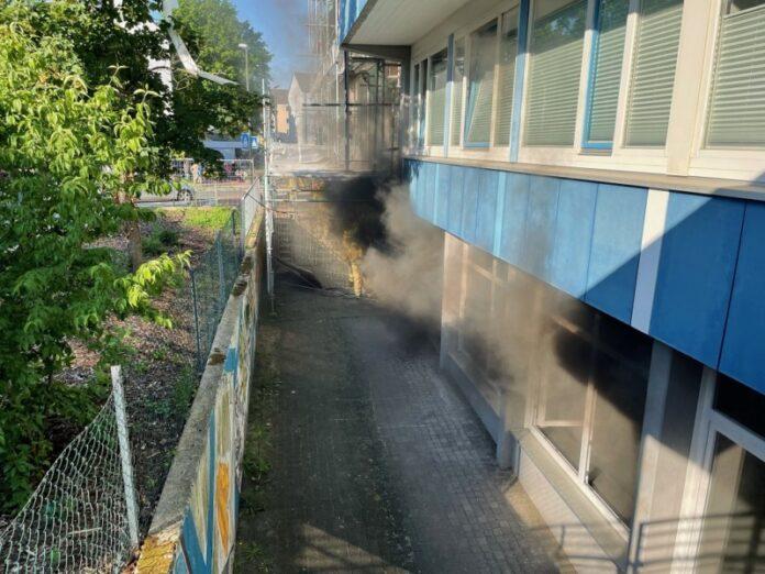 Rauchentwicklung Feuerwehreinsatz