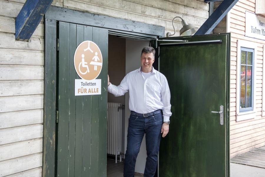 Andreas Michael Casdorff, Geschäftsführer des Zoos in Hannover