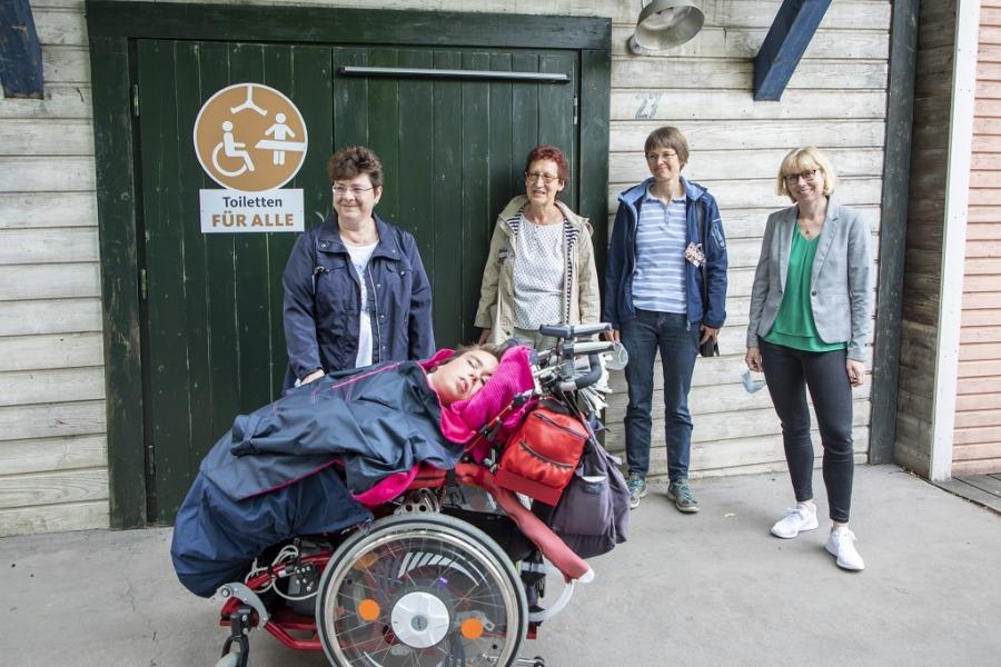"""Eröffnung """"Toilette für alle"""" im Erlebnis-Zoo Hannover"""
