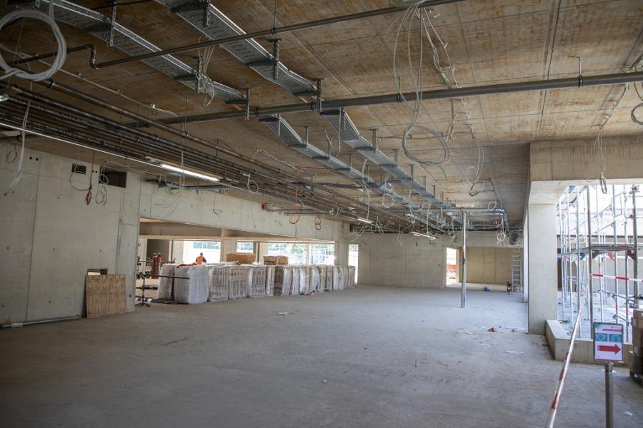 Baustelle Gymnasium Langenhagen