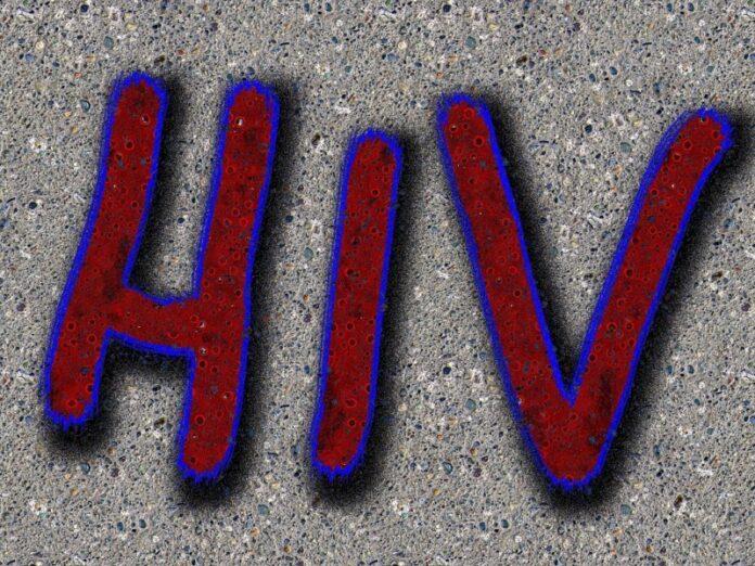 Schriftzug HIV