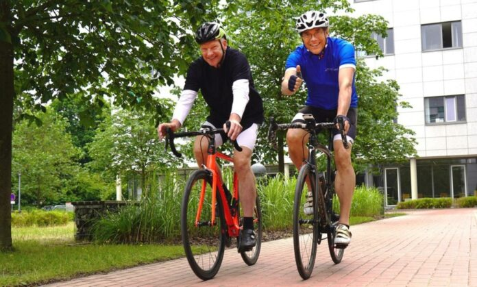 Radfahren gegen Krebs