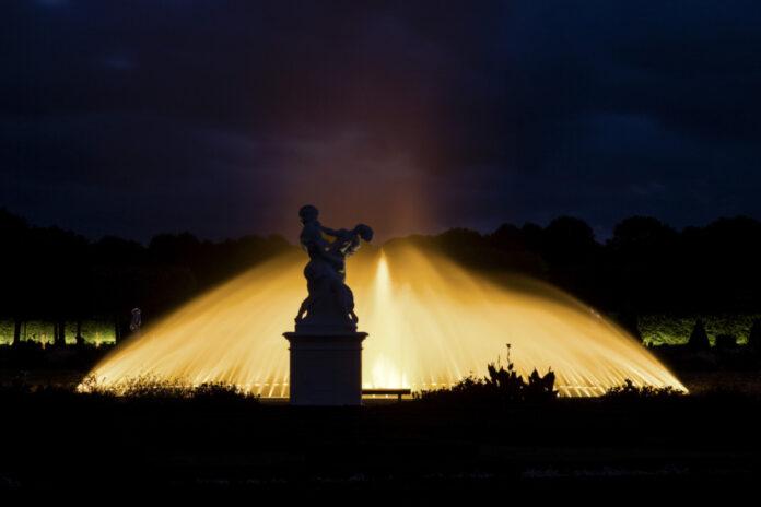 Illumination Großer Garten Herrenhausen