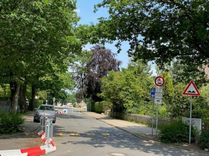 Straße Klusmoor