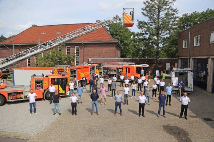 Azubi Begrüßung Feuerwehr Hannover