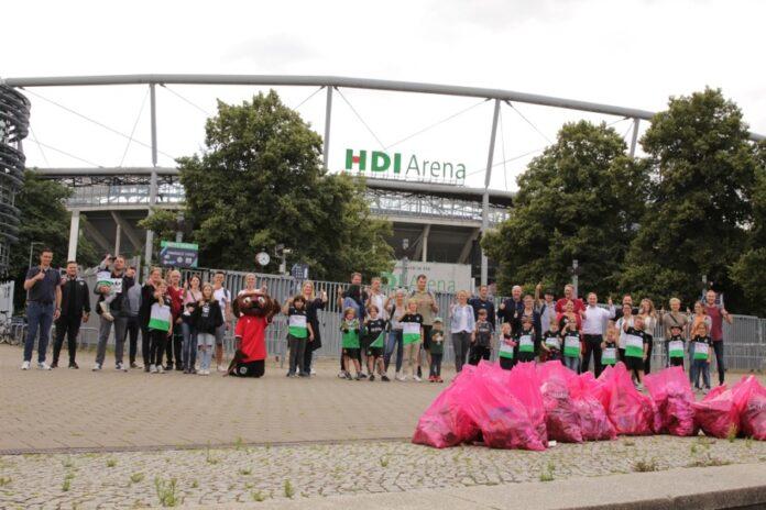 Müllsammelaktion Hannover 96