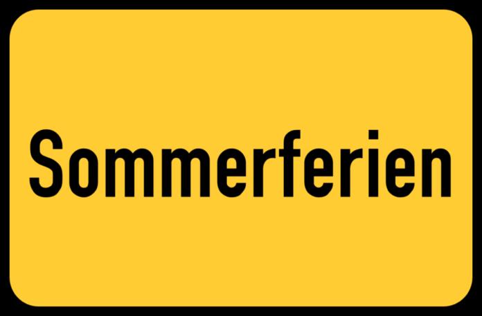 Grafik Sommerferien