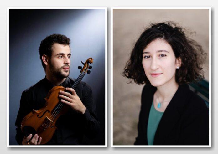 Geiger Yamen Saadi und Pianistin Nathalia Milstein