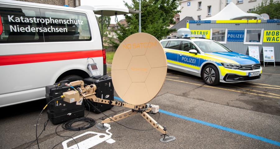 BOS-übergreifende Satellitenkommunikation
