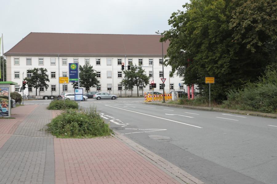 Heinrich-Heine-Straße - Baustelle