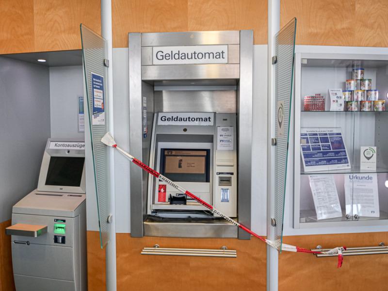 Geldautomateneinbruch