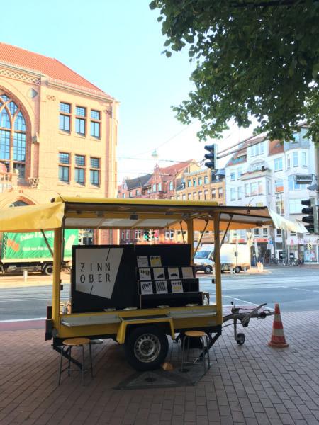 ZINNOBER-Infopoint-Marktwagen