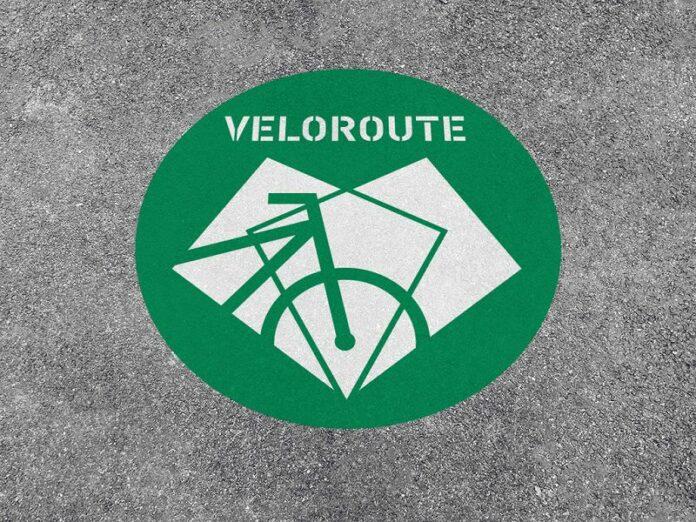 Piktogramm Veloroute
