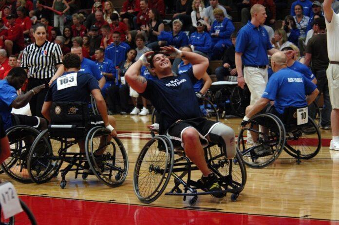 Rollstuhlhandball