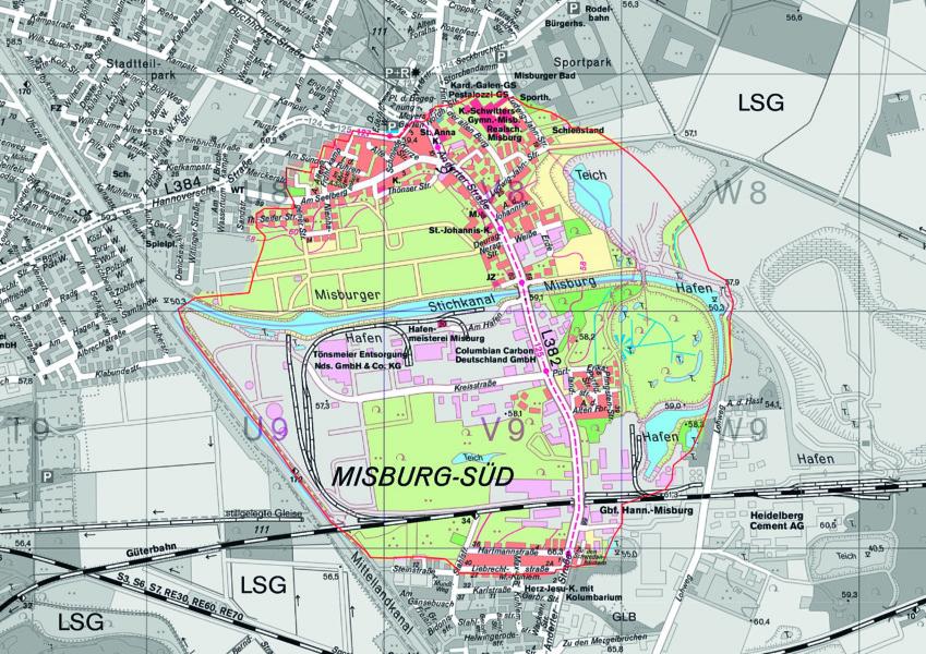 Evakuierungsbereich Kampfmittelbeseitigung Misburg-27.09.21