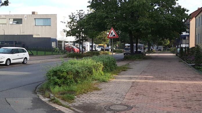 Die Hackethalstraße in Langenhagen wird umgestaltet.