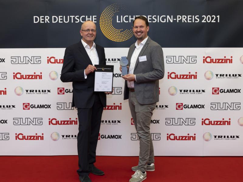 Preisträger Matthias Schiminski und Henrik Nolte