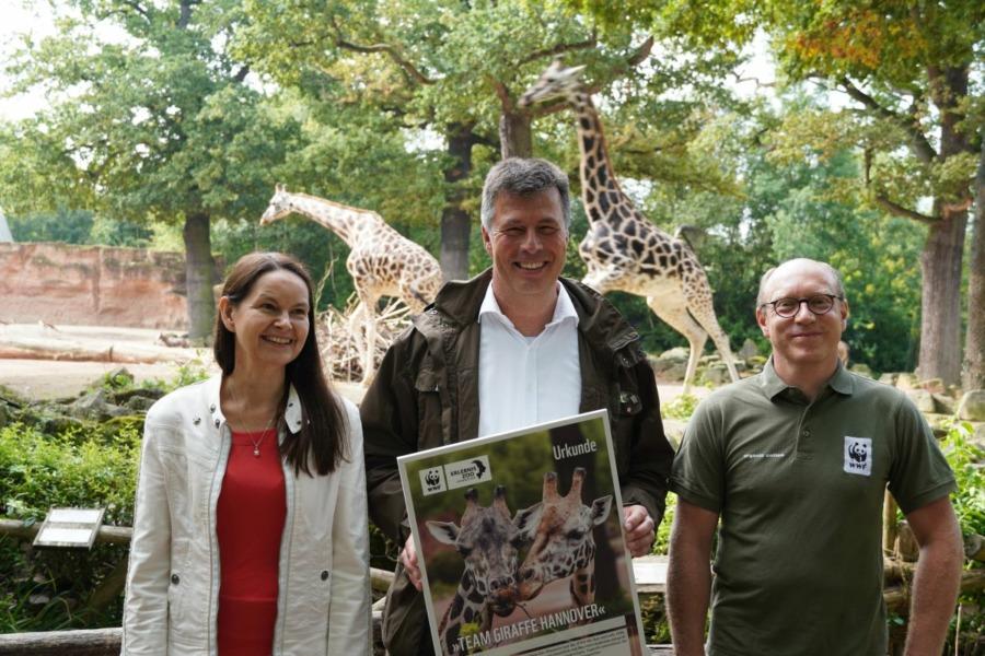 Tania Roach_Andreas M. Casdorff und Johannes Kirchgatter stellen das Team Giraffe Hannover vor