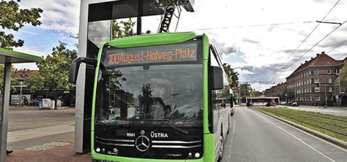 ÜSTRA Elektrobus