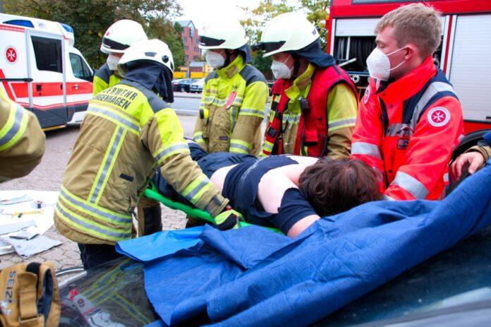 Ausbildungstag JUH und Feuerwehr Langenhagen