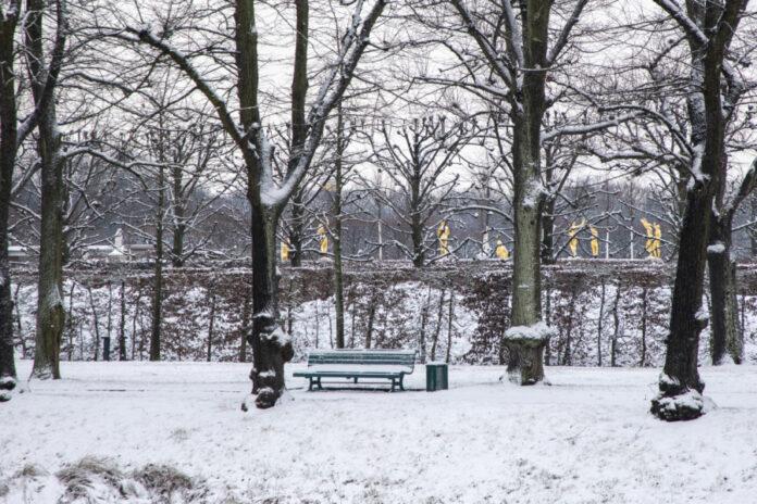 Herrenhausen im Winter
