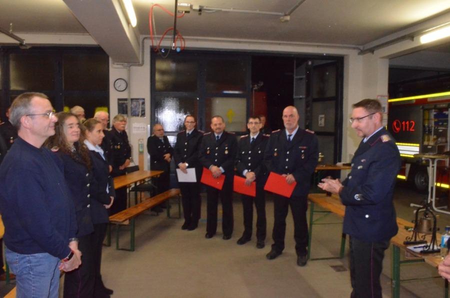 Ortfeuerwehr Godshorn Jahreshauptversammlung
