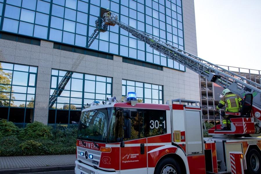 Feuerwehrübung Maritim Hotel